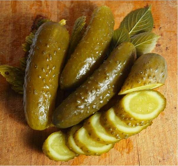 Как сделать из соленых огурцов маринованные